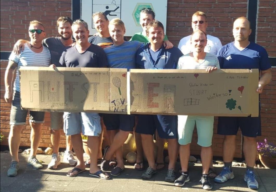 Tennis: Herren 40 weiter auf Erfolgskurs