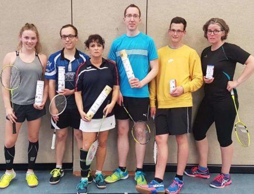Badminton: Erfolgreiche Vereinsmeisterschaften
