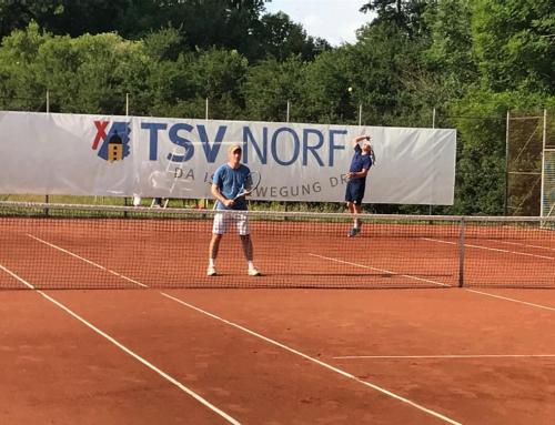 Tennis: Zweifacher Triumph für den TSV!